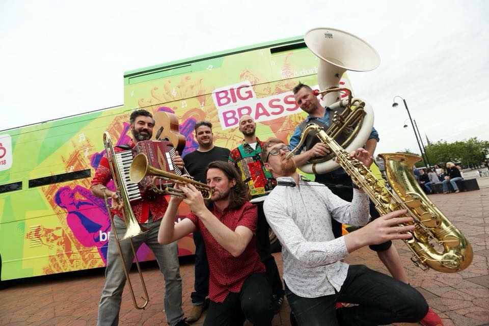 Durham BRASS Festival Street Ceilidh